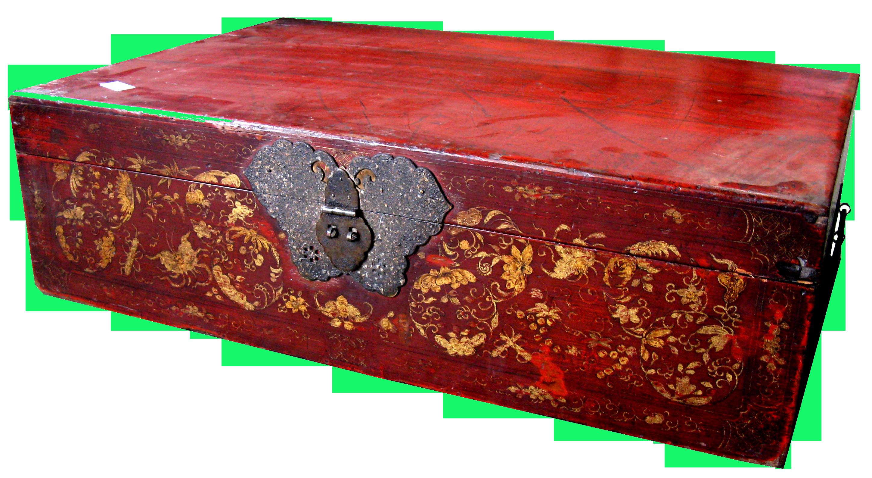 Antike Chinesische Truhe Möbel