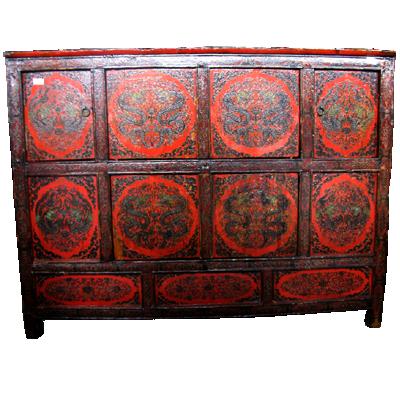 antikes sideboard aus tibet m bel